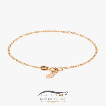 دستبند طلا زنانه اورو