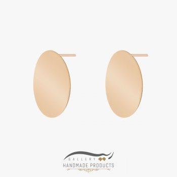گوشواره طلا زنانه کلئوپاترا