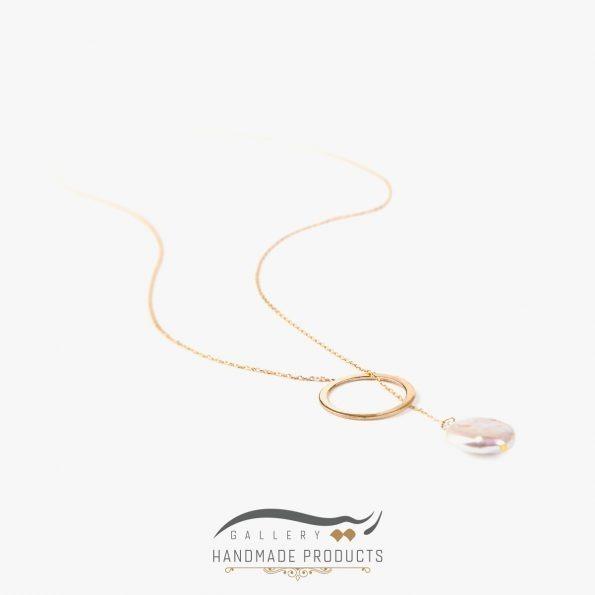 تصویر گردنبند طلا زنانه فلیسه