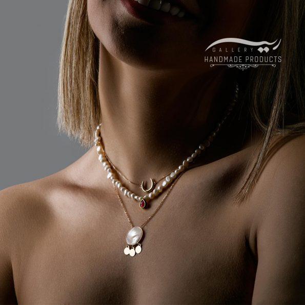 گردنبند طلا زنانه لونا