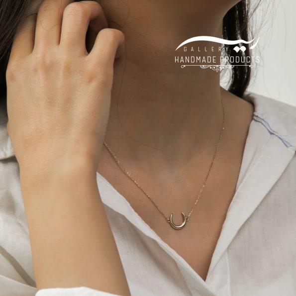 مدل گردنبند طلا زنانه لونا