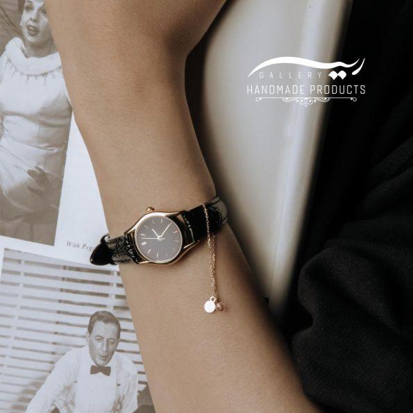 آویز ساعت طلا زنانه