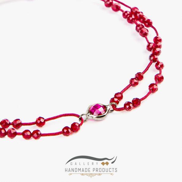 تصویر دستبند نقره زنانه اونو