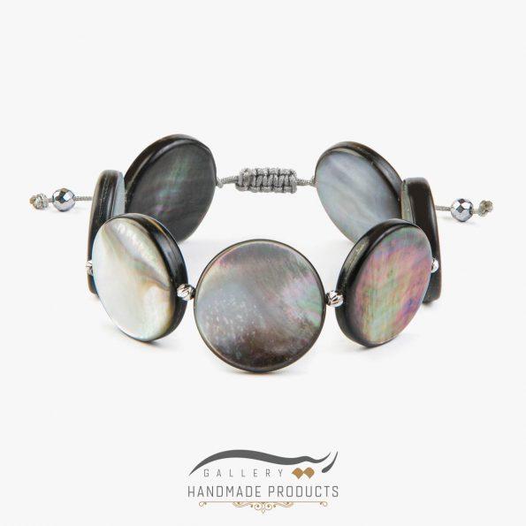 دستبند طلا زنانه چشم ماهی