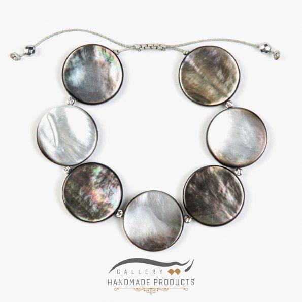 تصویر دستبند طلا زنانه چشم ماهی