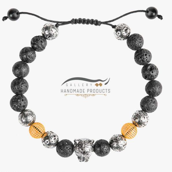 عکس دستبند طلا مردانه دیگو