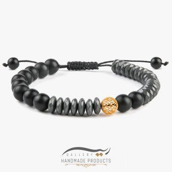 دستبند طلا مردانه رونوس