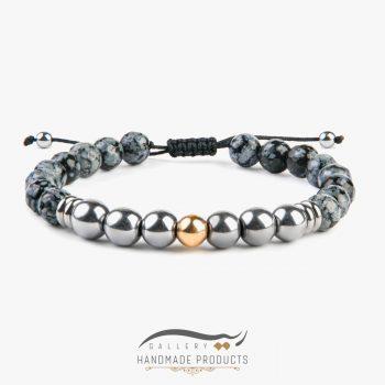 دستبند طلا مردانه شاهین