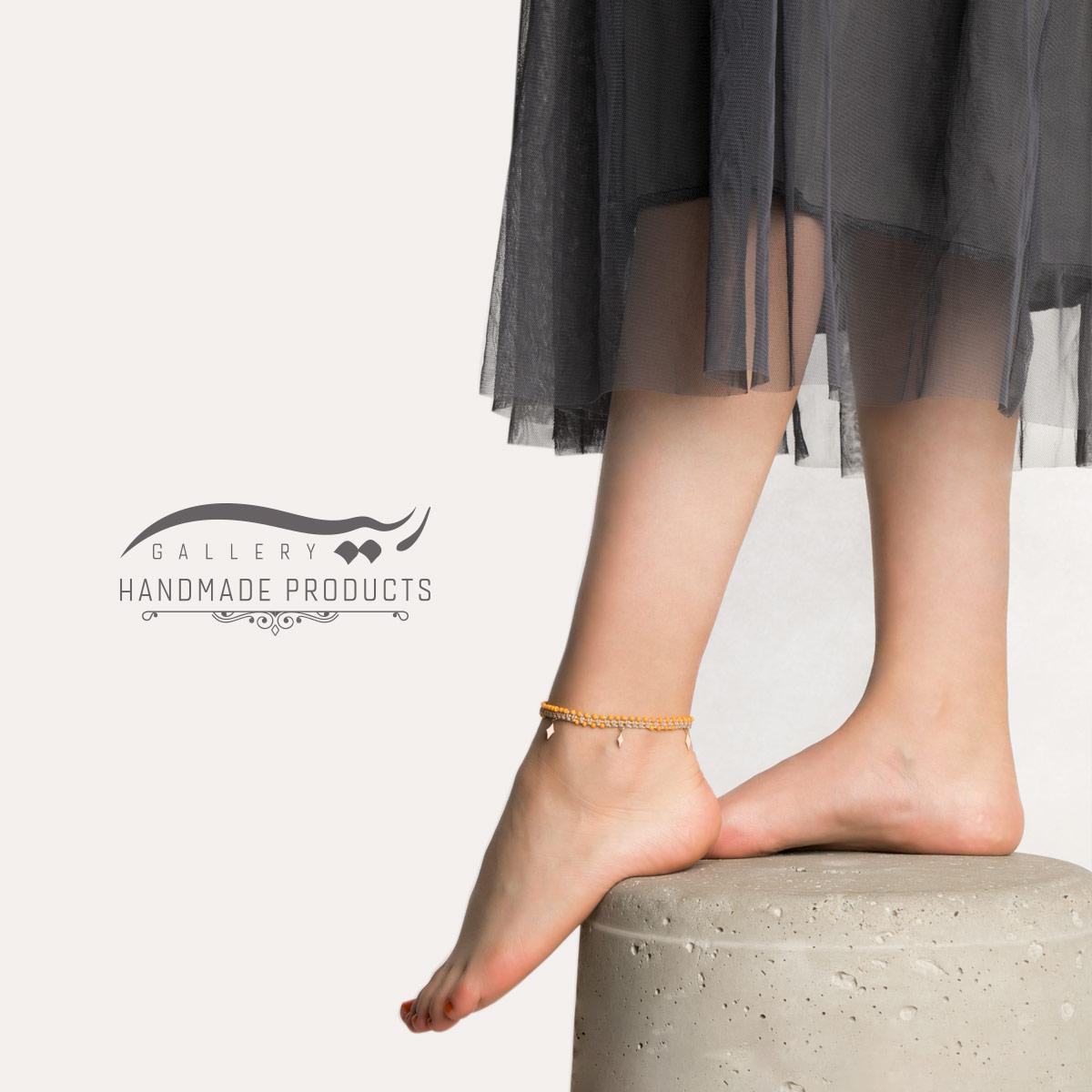 مدل پابند طلا زنانه خشت