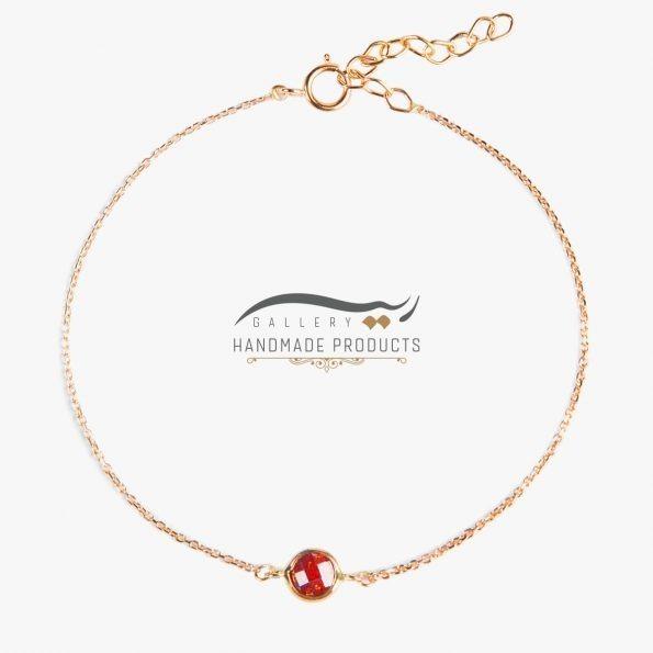 عکس دستبند طلا زنانه بنیتا