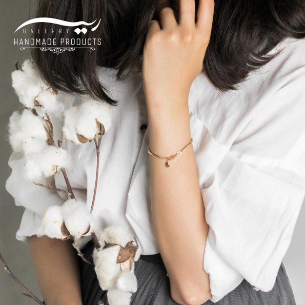 مدل دستبند طلا زنانه فیگارو