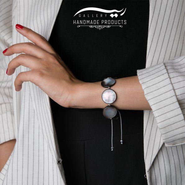 مدل دستبند طلا زنانه چشم ماهی