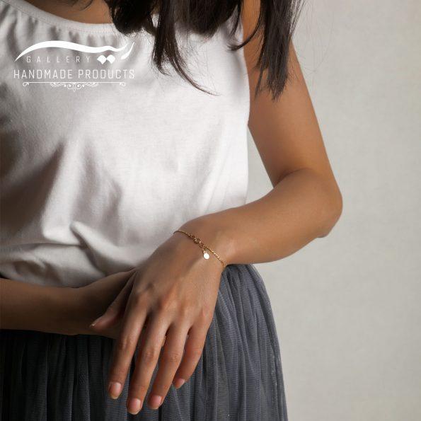 مدل دستبند طلا زنانه اورو