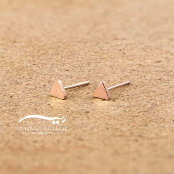 تصویر گوشواره طلا زنانه جیزه