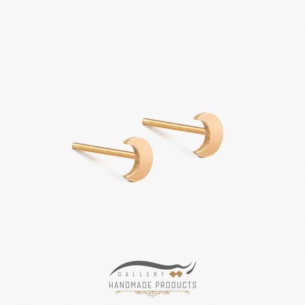 گوشواره طلا زنانه ماه