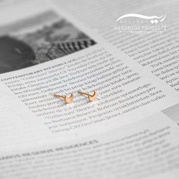 جدیدترین عکس گوشواره طلا زنانه ماه