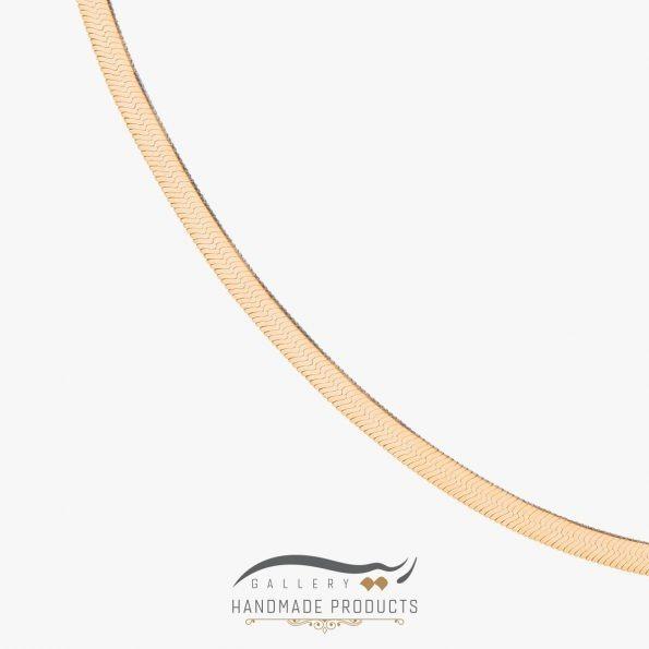عکس گردنبند طلا زنانه هرینگبون