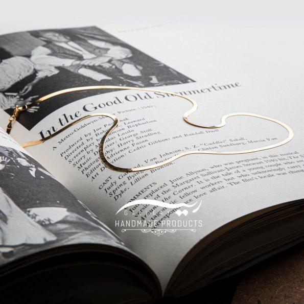 جدیدترین عکس گردنبند طلا زنانه هرینگبون