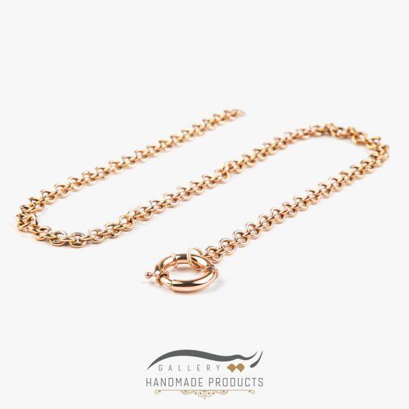 تصویر گردنبند طلا زنانه رولو