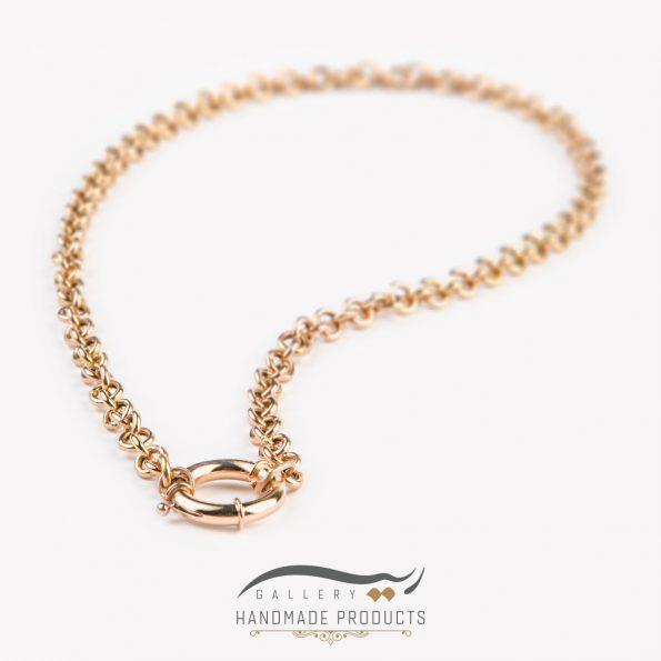 جدیدترین عکس گردنبند طلا زنانه رولو