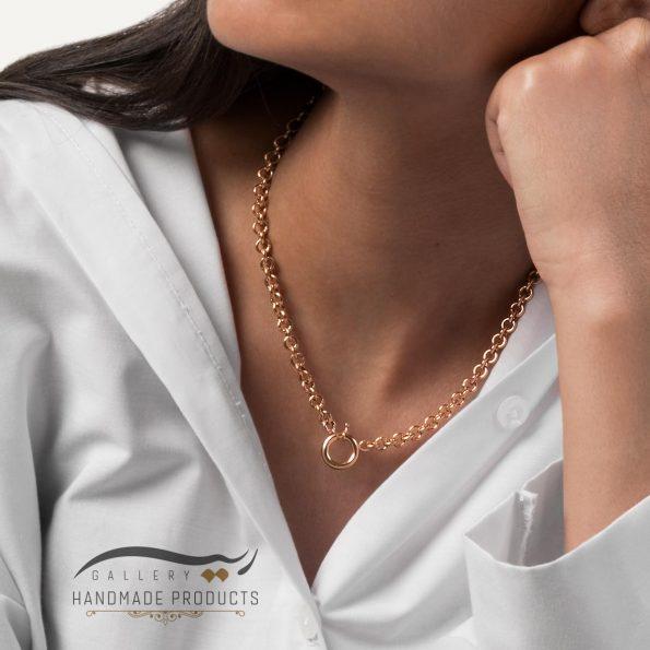 مدل گردنبند طلا زنانه رولو