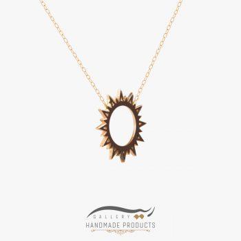 عکس گردنبند طلا زنانه شمس