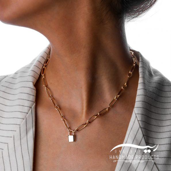 مدل گردنبند طلا زنانه زاموک