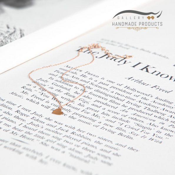 تصویر پابند طلا زنانه قلب