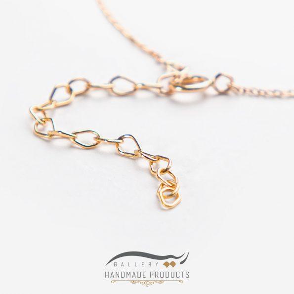 بهترین پابند طلا زنانه قلب مینیمال