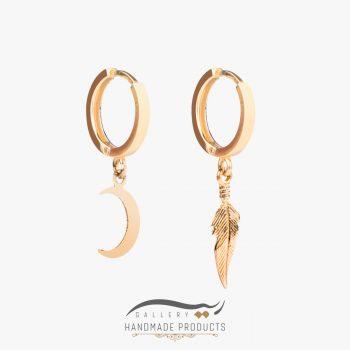 گوشواره طلا زنانه پوکاهانتس