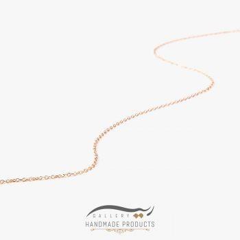 تصویر زنجیر طلا زنانه فلامینگو