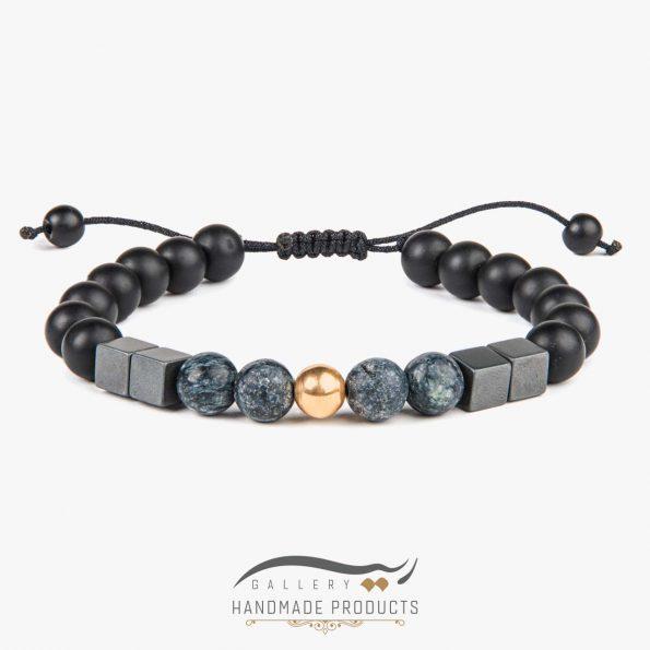 دستبند طلا مردانه جاسپر جونز