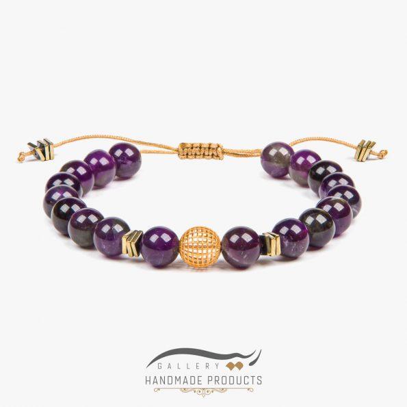 دستبند طلا زنانه آماتیس