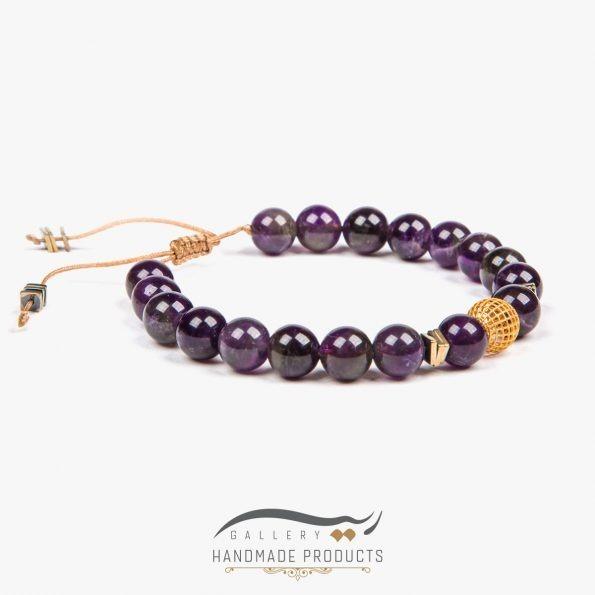 تصویر دستبند طلا زنانه آماتیس