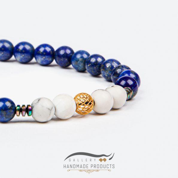 جدیدترین عکس دستبند طلا زنانه آبی عمیق