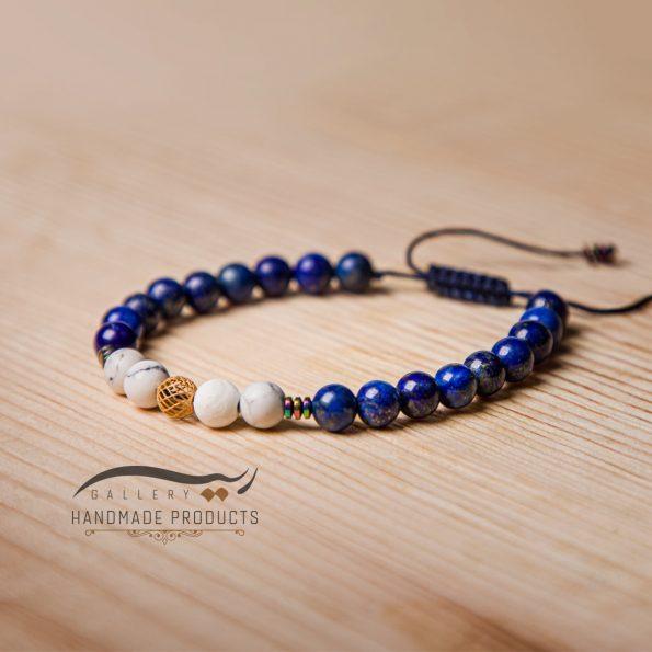 جدیدترین مدل دستبند طلا زنانه آبی عمیق