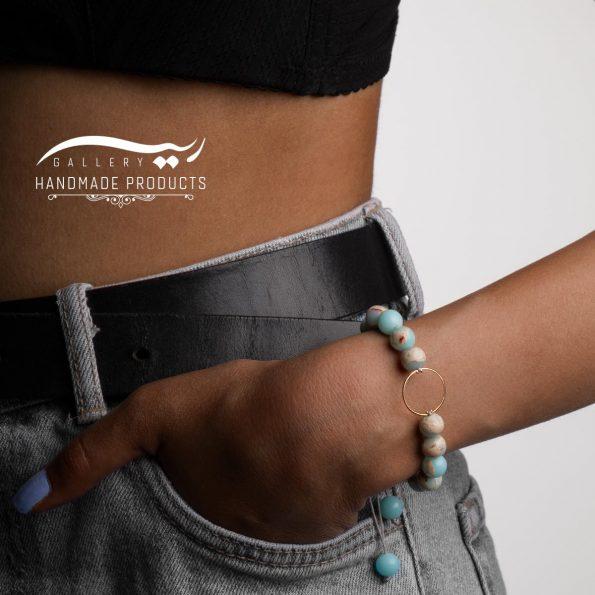 مدل دستبند طلا زنانه بهشت سفید
