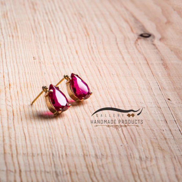 تصویر گوشواره طلا زنانه شهرزاد