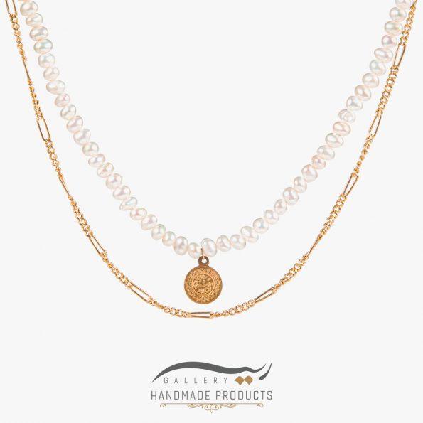 گردنبند طلا زنانه فرح