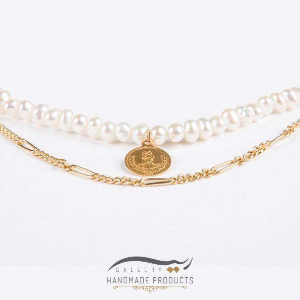 تصویر گردنبند طلا زنانه فرح