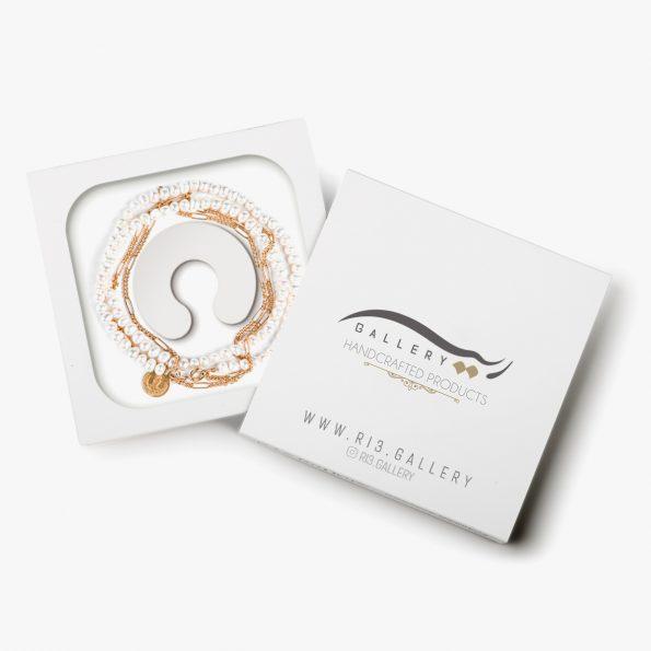 بسته بندی گردنبند طلا زنانه فرح