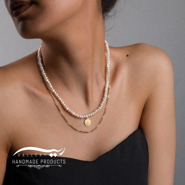مدل گردنبند طلا زنانه فرح