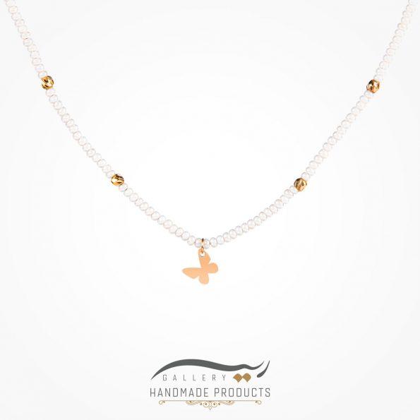 گردنبند طلا زنانه پرپروک