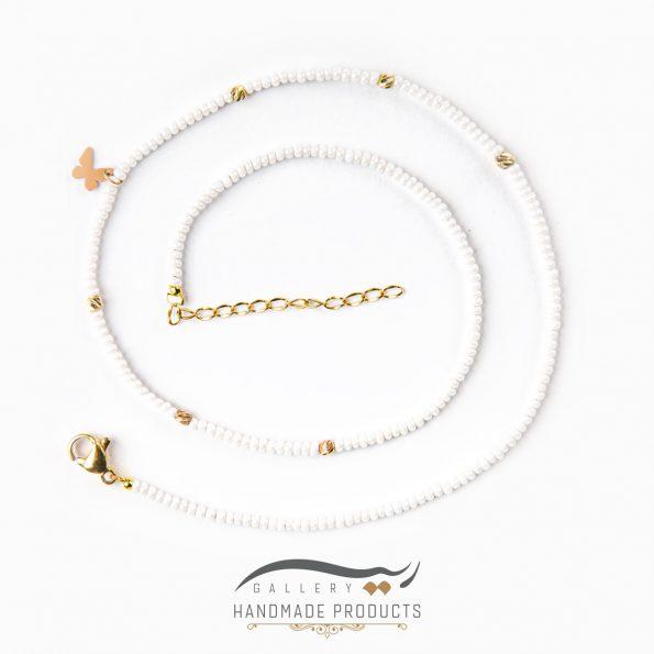 تصویر گردنبند طلا زنانه پرپروک