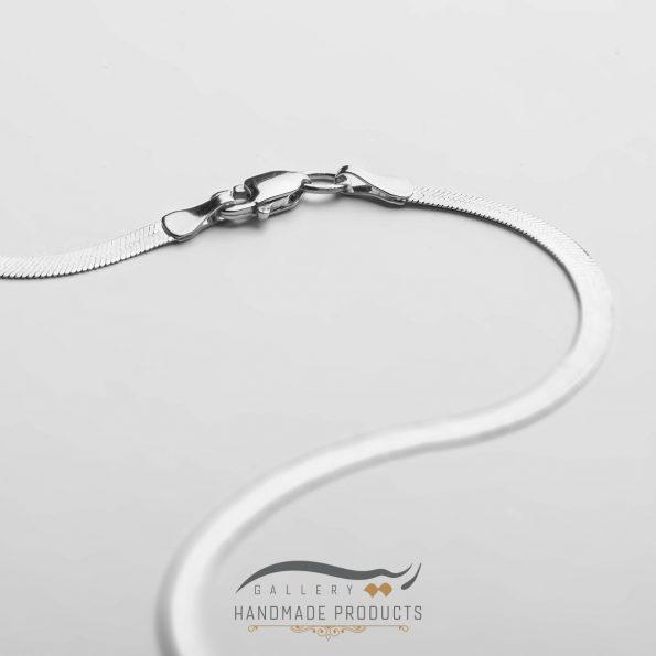 جدیدترین عکس گردنبند نقره زنانه هرینگبون