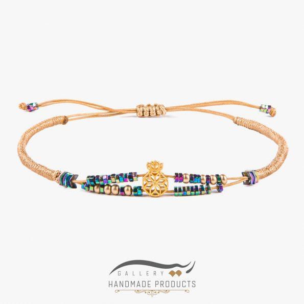 دستبند طلا زنانه نارین