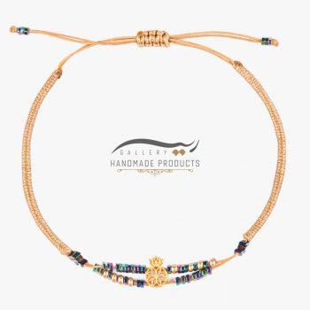 عکس دستبند طلا زنانه نارین