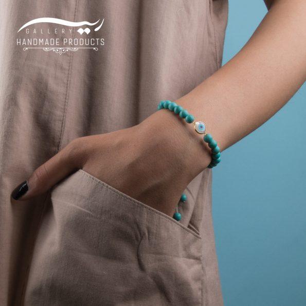 مدل دستبند طلا زنانه بنجو