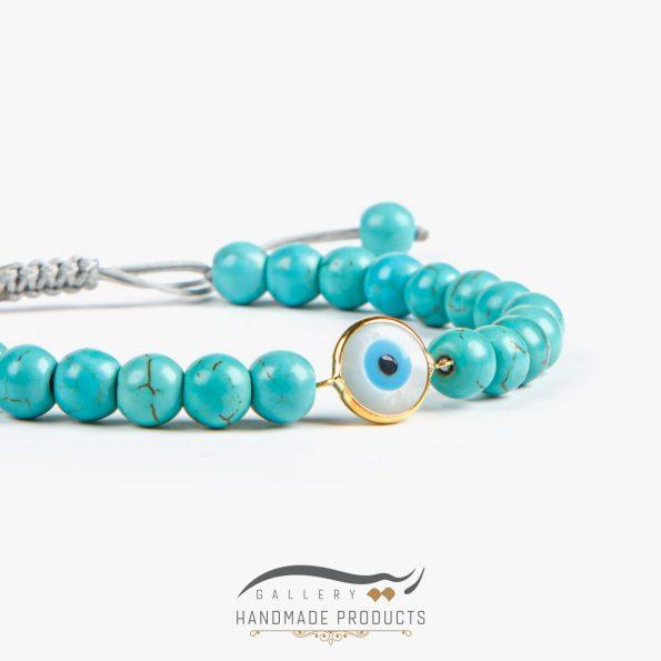 تصویر دستبند طلا زنانه بنجو