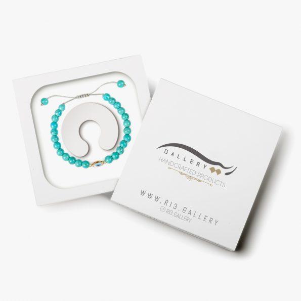 بسته بندی دستبند طلا زنانه بنجو
